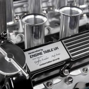 Jaguar V12 Symphony Engine Table by The Supercar Store