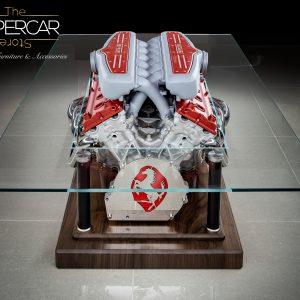 Ferrari 599 GTB V12 Engine Table by The Supercar Store